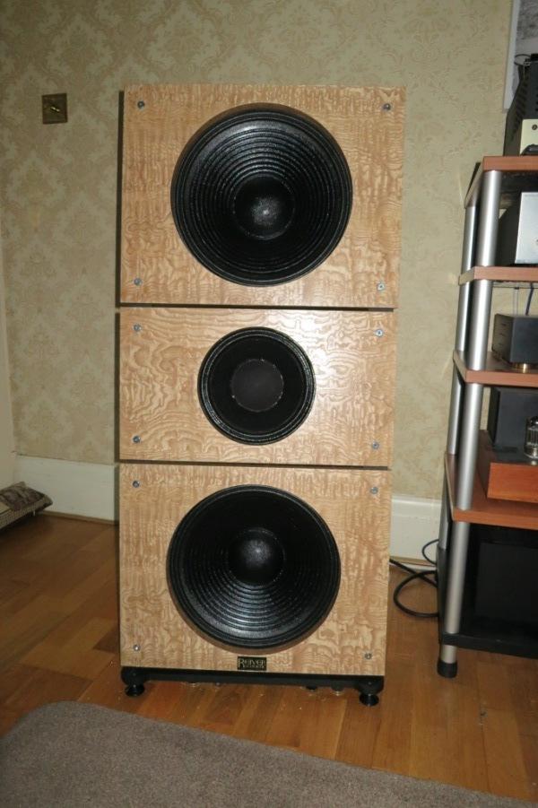 My personal Open Baffle speaker project